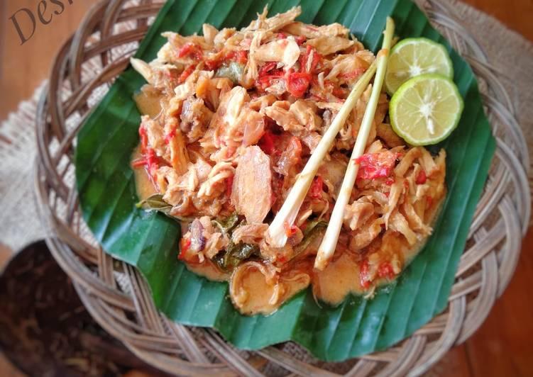 Resep Ayam Suwir Kondangan