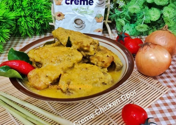 Resep Creme Chicken Opor
