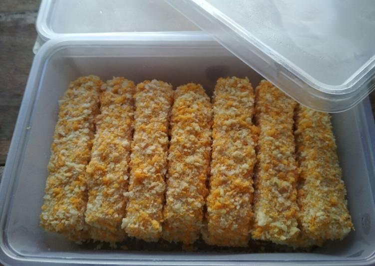 Resep Finger Food Nugget Udang Tahu non MSG 1+