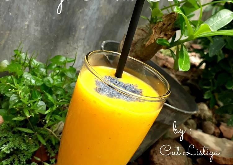Resep Mango Milk Ice