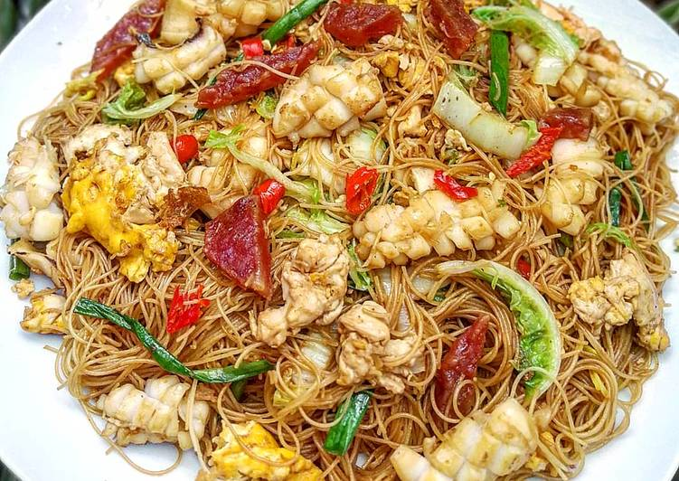 Resep Bihun Goreng Seafood