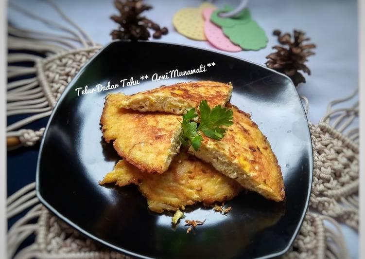 Resep Telur Dadar Tahu
