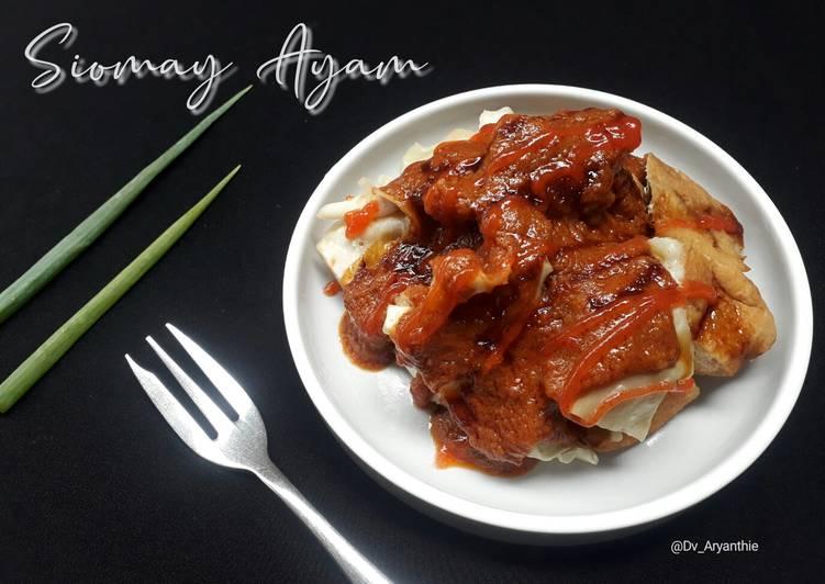 Resep Siomay ayam
