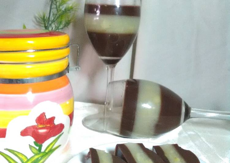 Resep Puding Lapis durian