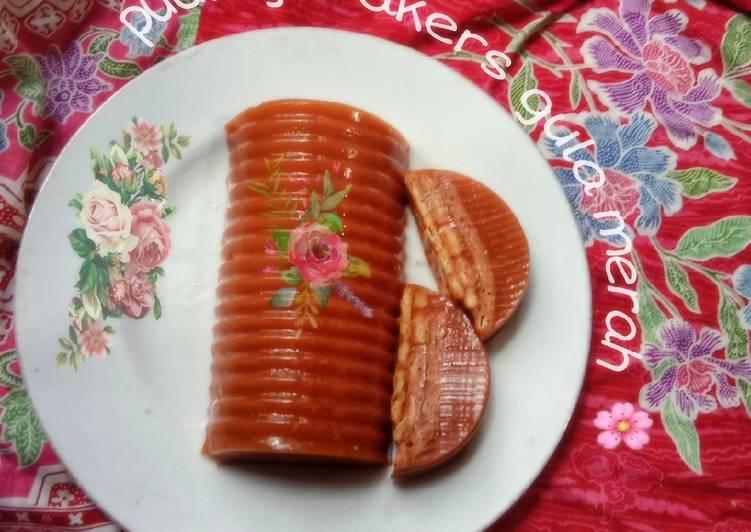 Resep Puding crakers gula merah