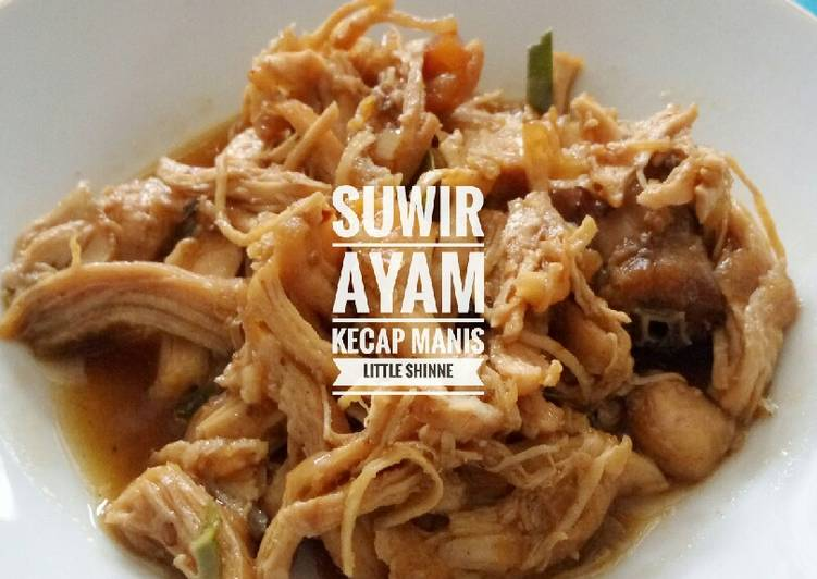Resep Suwir Ayam Kecap Manis