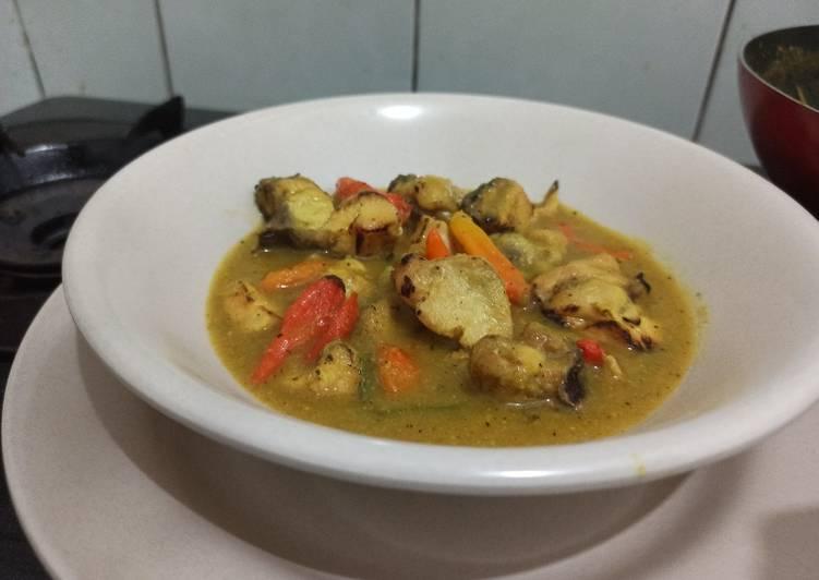 Resep Ayam lodho versi diet no gula, tepung, santan, minyak