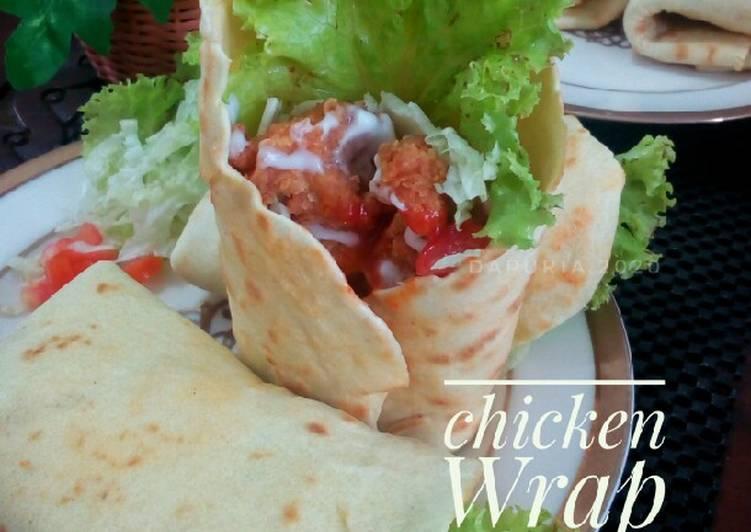 Resep Chicken wrap
