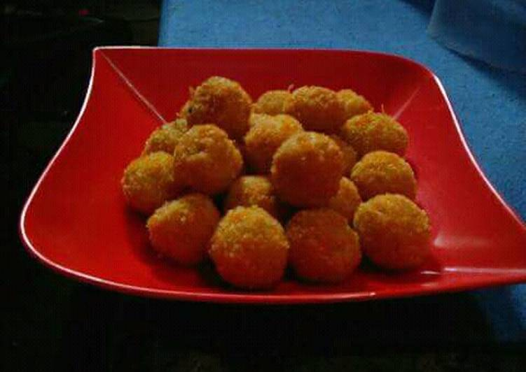 Resep Nugget mie bola-bola ayam