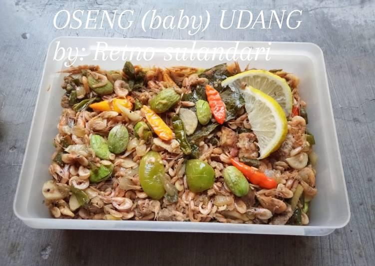 Resep #OSENG (baby) UDANG