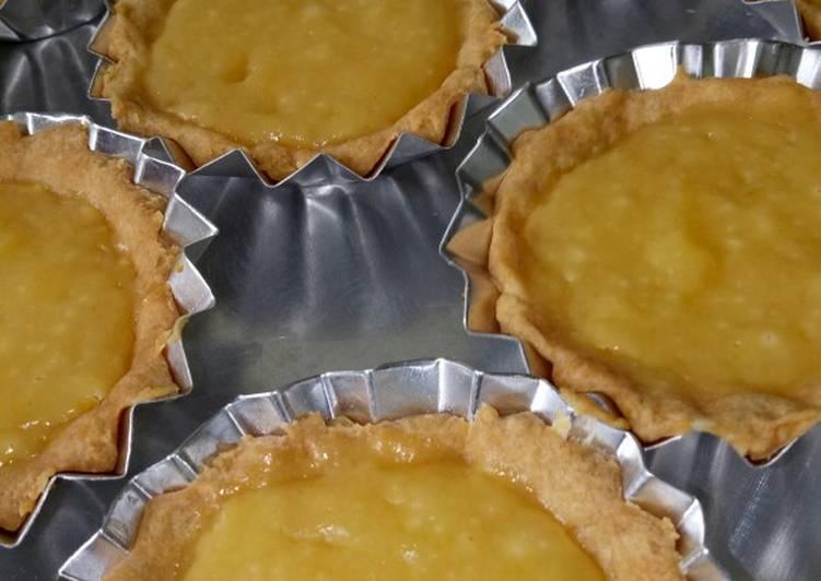 Resep Pie susu ekonomis no mixer