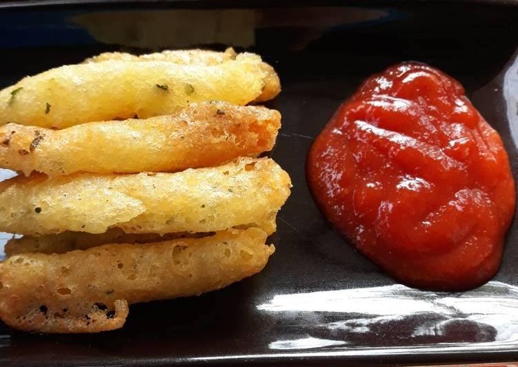 Resep Potato Cheese / Kentang Keju Renyah #Juli19