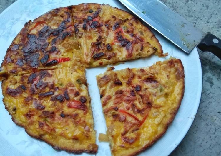 Resep Omelet susu keju