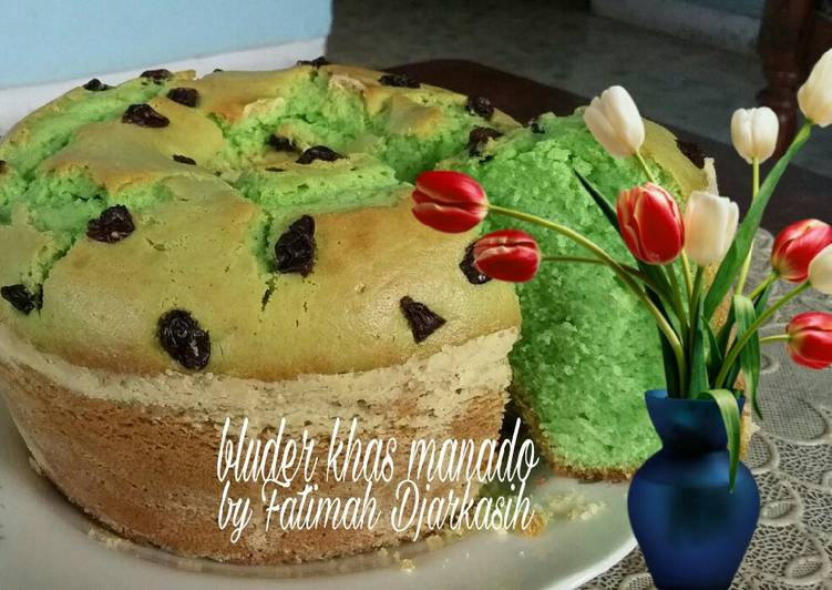 Resep Bluder Khas Manado