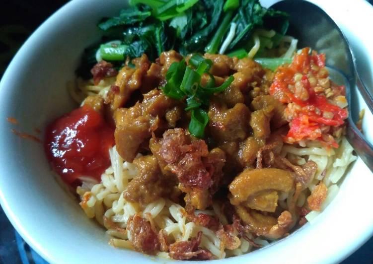 Resep Mie ayam homemade simple