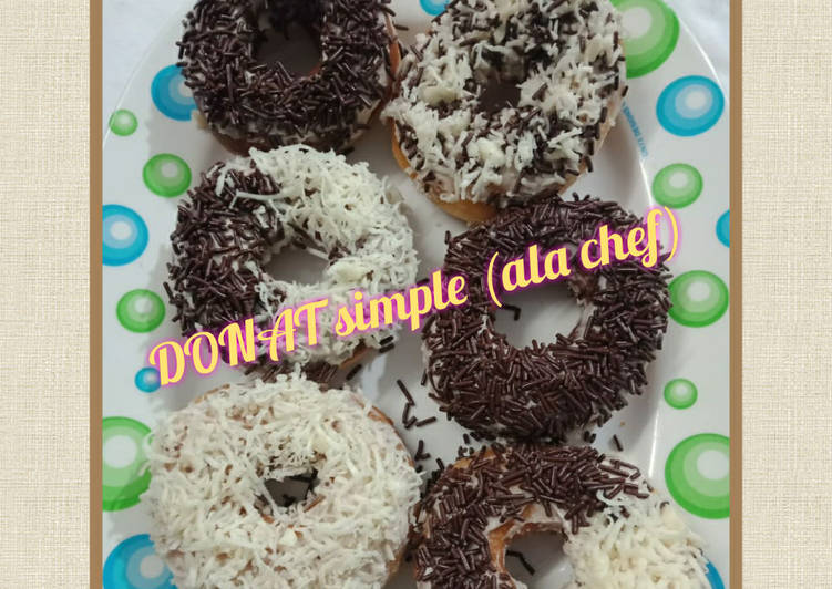 Resep DONAT Simple (ala chef)