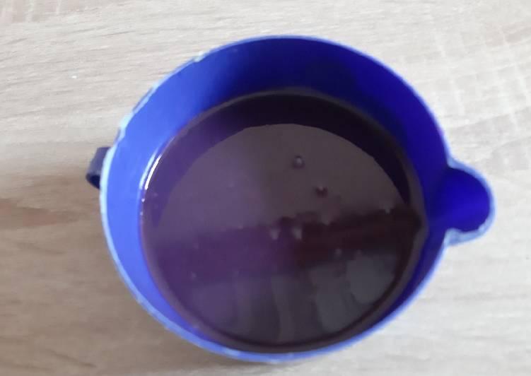Resep Glaze coklat 3 bahan