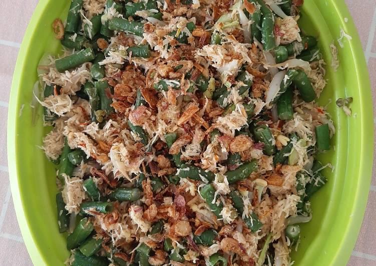 Resep Megono Kacang Panjang