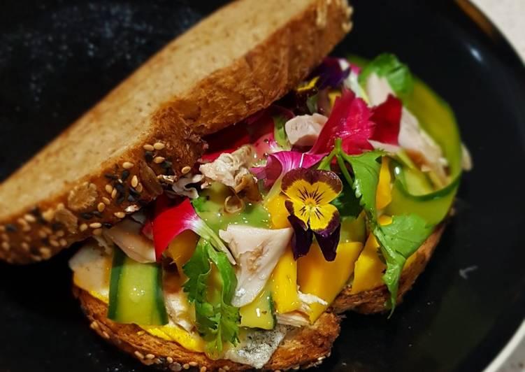Resep Mango Chicken Sandwich