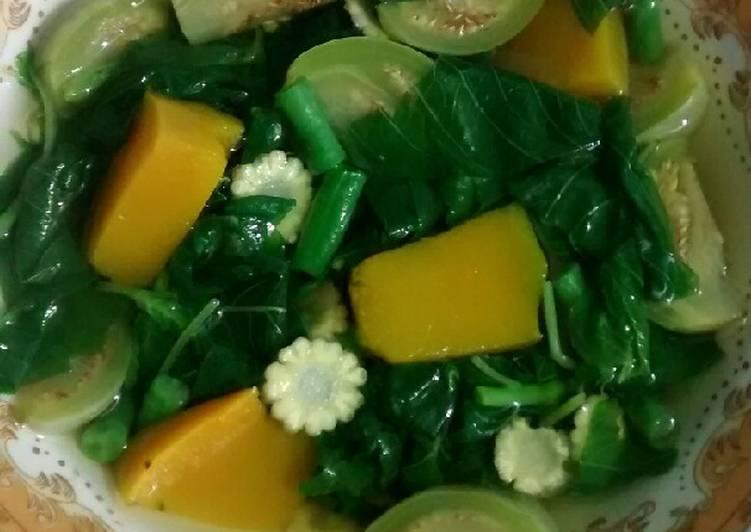 Resep Sayur bayam hijau