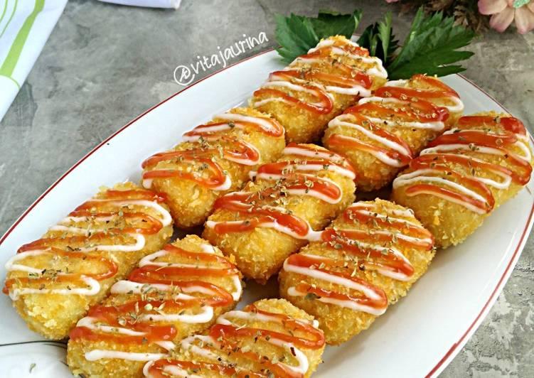 Resep Kroket Keju Jagung