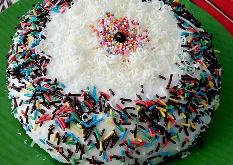 Resep Chiffon cake tepung beras kukus