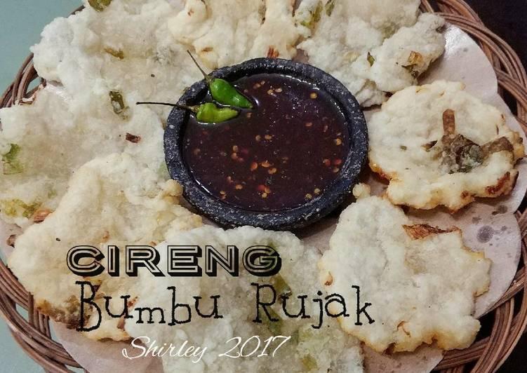 Resep Cireng + bumbu Rujakenakk