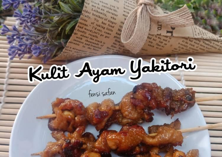 Resep Kulit Ayam Yakitori (Sate ala Jepang)
