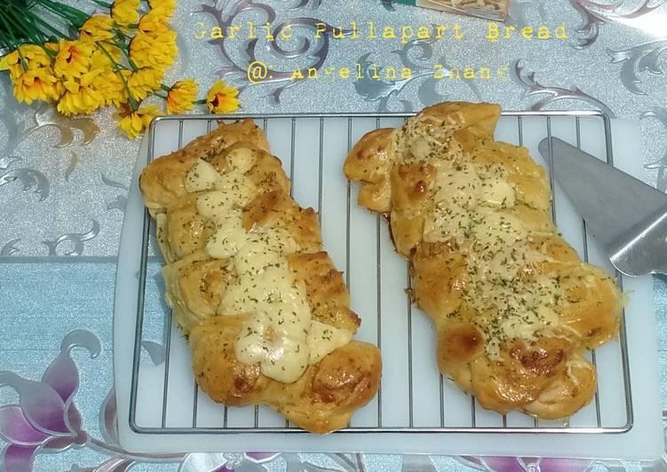 Resep Garlic Pullapart Bread JN