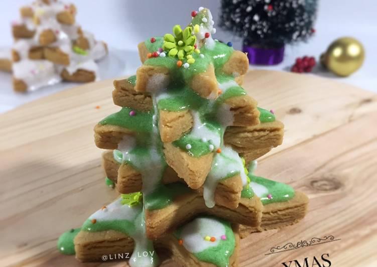 Resep Cookies hias icing sugar - cookies anti gagal - xmas cookie - kue natal - resep cookies hias