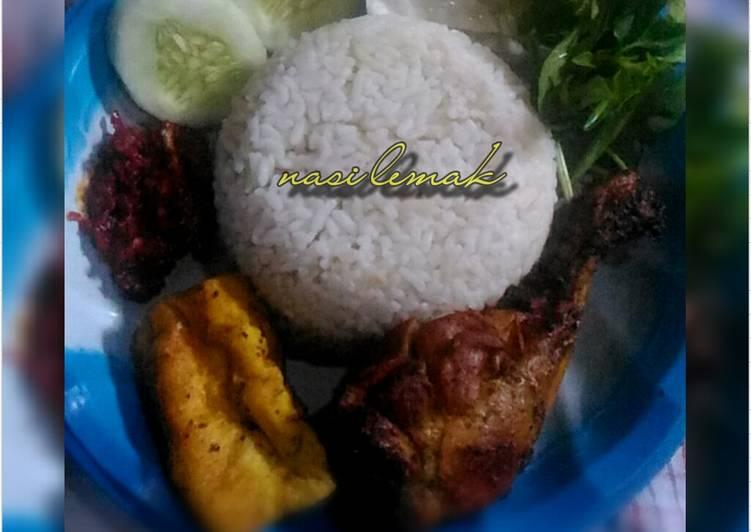 Resep Nasi Lemak khas Malaysia