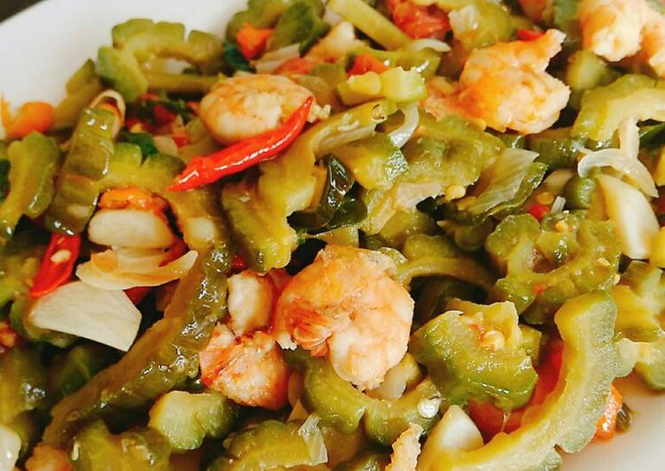 Resep Tumis Pare Udang