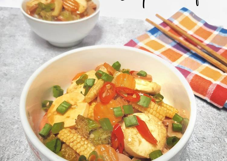 Resep Sapo Tofu