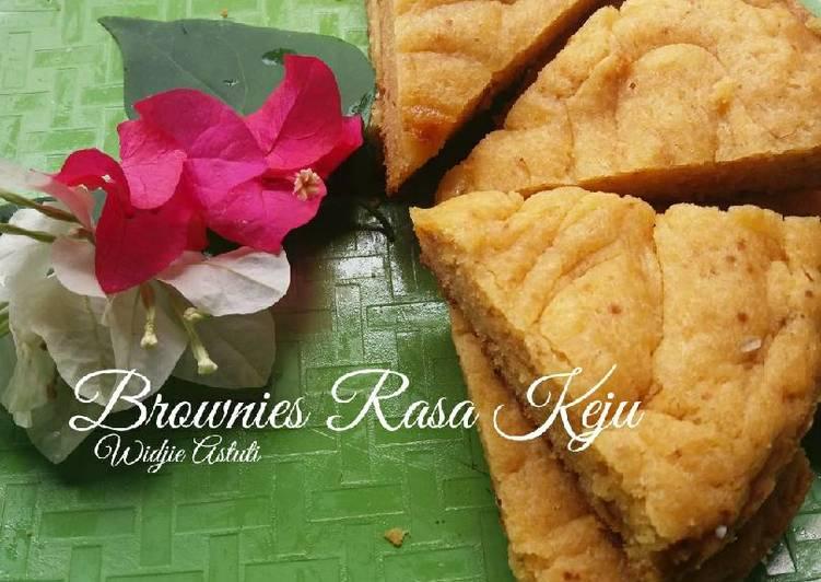 Resep Brownies Rasa Keju _Mom'sRecipes