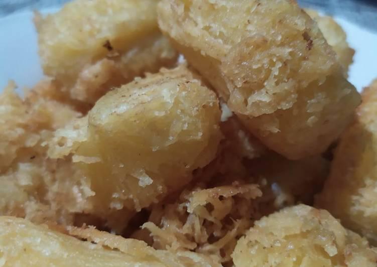 Resep Singkong krispi tanpa kukus