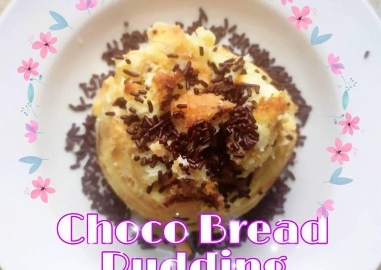 Resep Choco Bread Pudding
