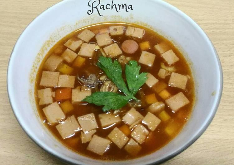 Resep Sup Merah Pronas