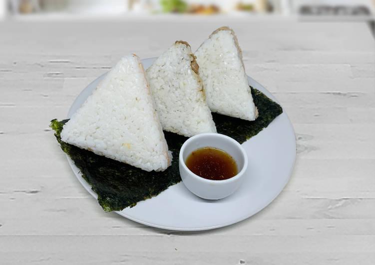 Resep Beef Yakiniku Onigiri