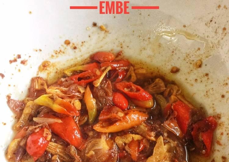 Resep Sambal Embe