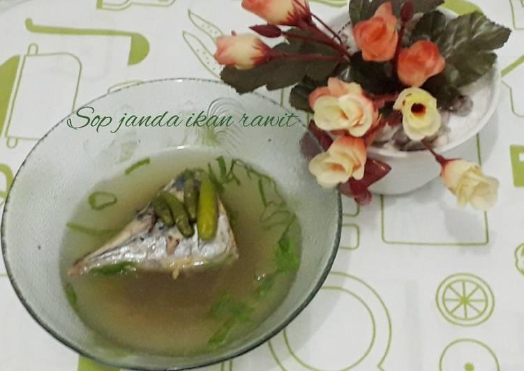 Resep Sop janda ikan rawit