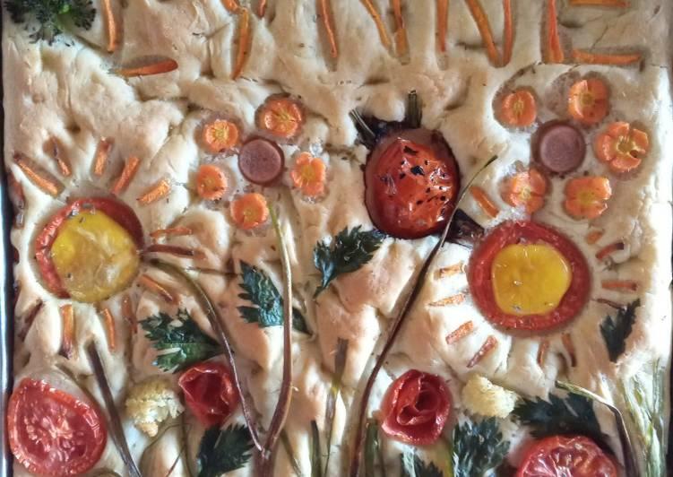 Resep Roti Focacia