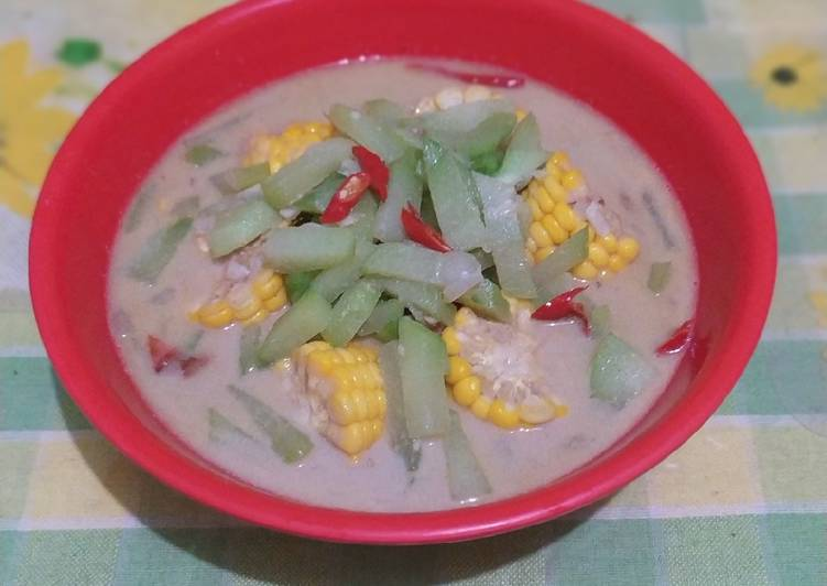 Resep Lodeh Labu Siam Jagung #161