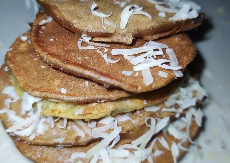 Resep Pancake Pisang Super Mudah