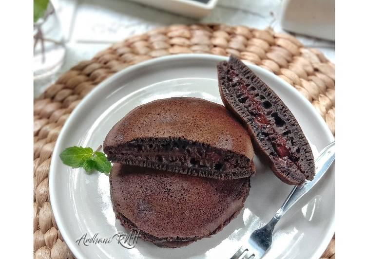 Resep Triple Chocolate Dorayaki