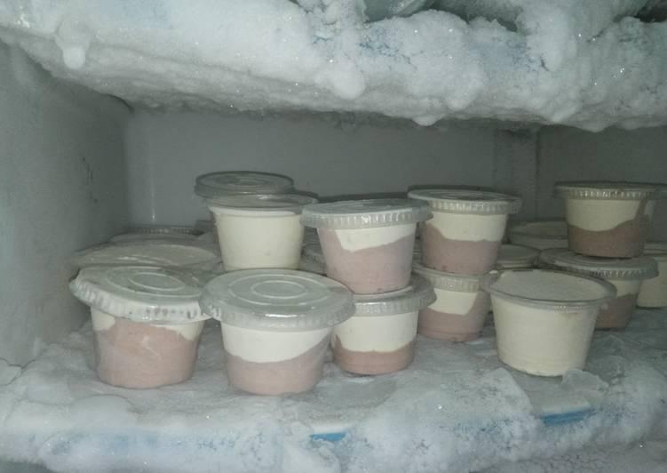 Resep Ice cream homemade