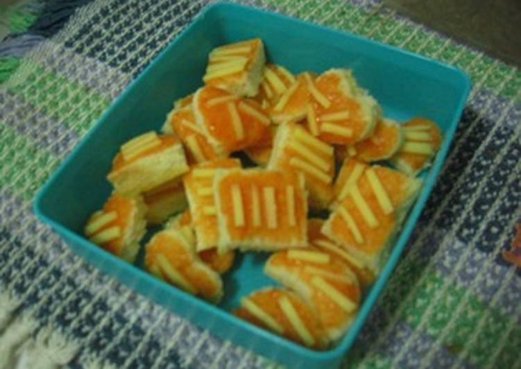 Resep roti tawar kering saus sambal
