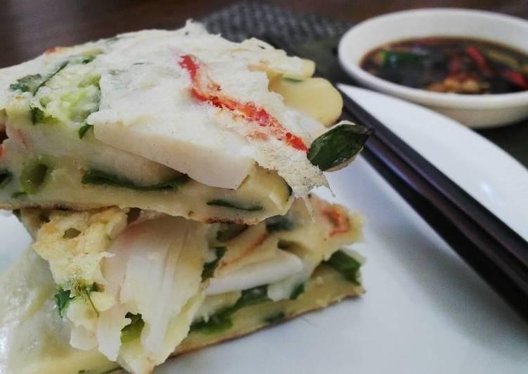 Resep Korean Seafood Pancake