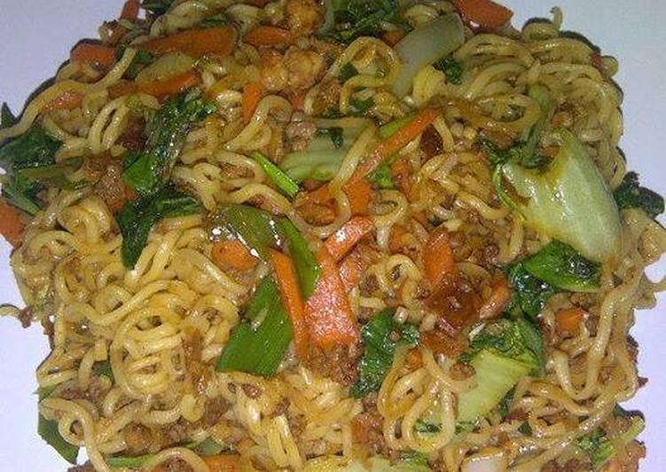 Resep Mi goreng Korea