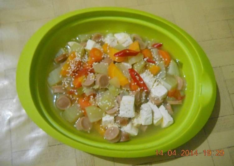 Resep KOREAN TOFU SPICY SOUP