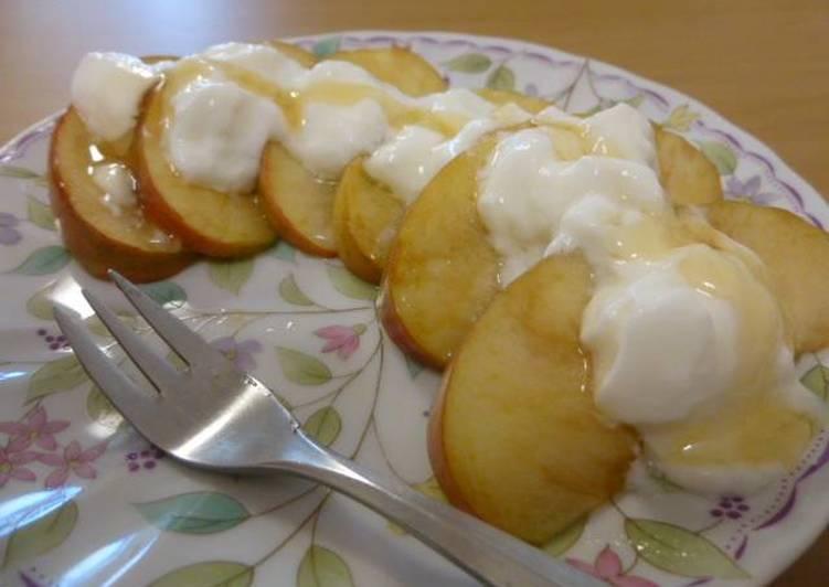 Resep Apel hangat cocok untuk sarapan pagi